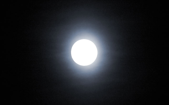 La lune, symbole d'introspection