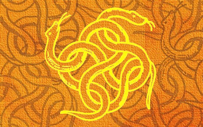 Serpent, symbole d'énergie.