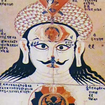 Hatha yoga peinture