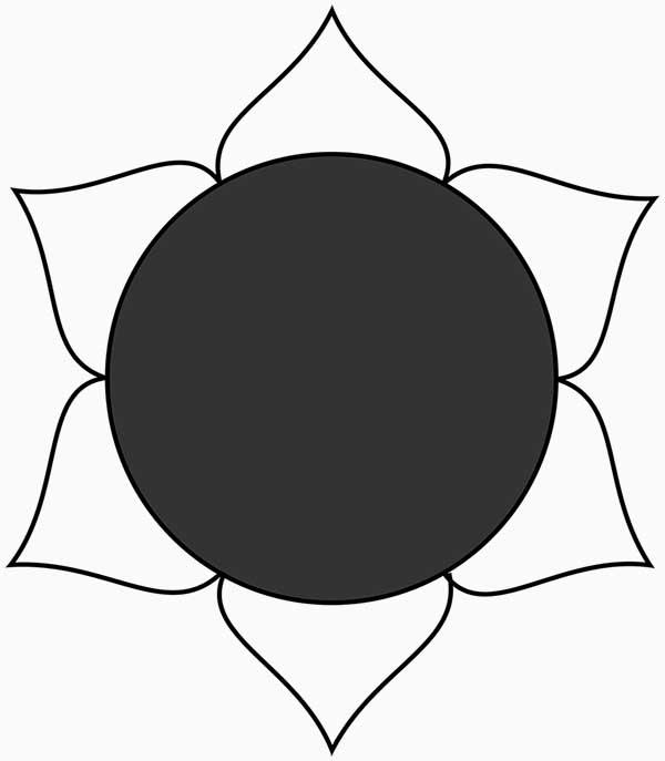 Un symbole de swadhisthana chakra