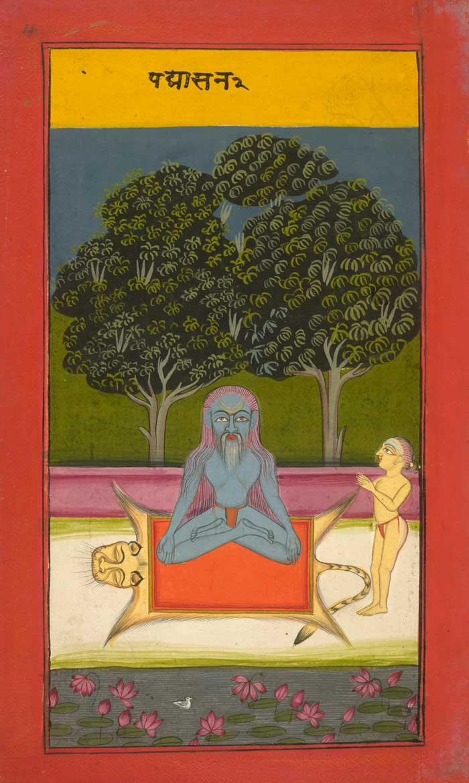 Padmasana - la posture du lotus