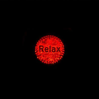 Bouton indiquant le besoin de relaxation