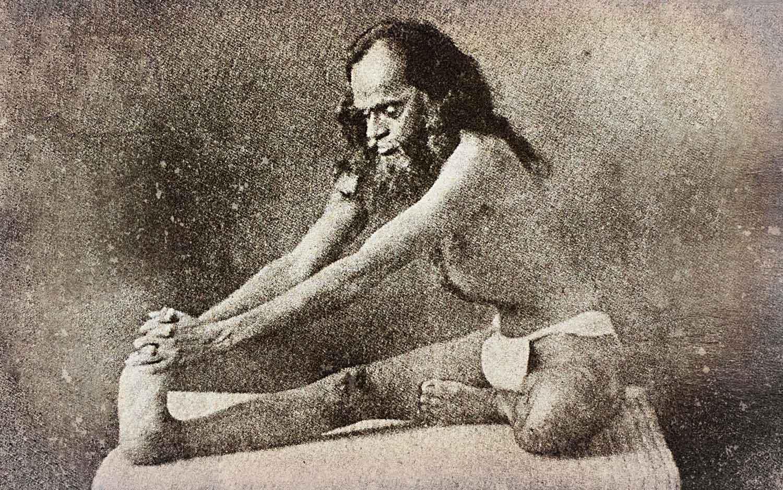 Exercise hatha yoga - maha mudra
