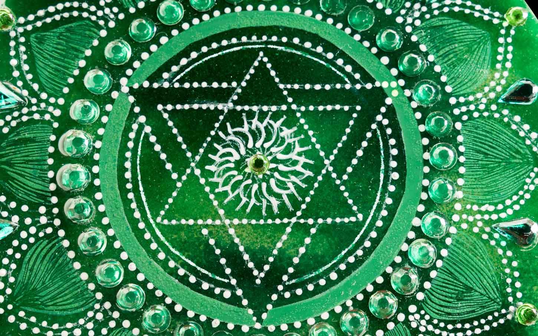 Symbole Anahata chakra