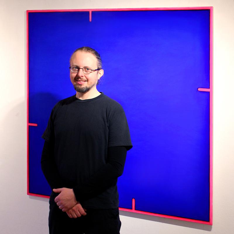 Le peintre danois Carsten Crone Caroc