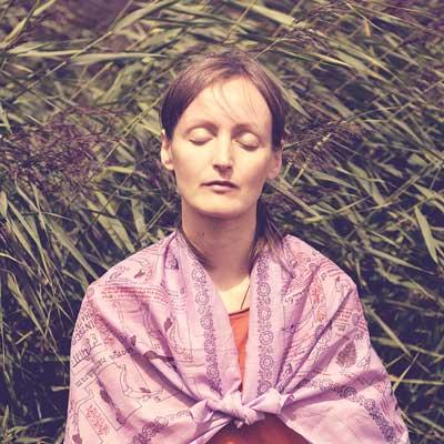 Vigyana Shakti en méditation